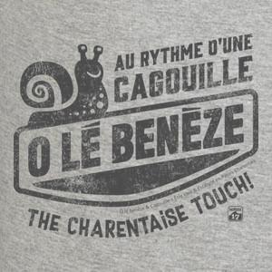 O lé Benèze Cagouille en patois charentais