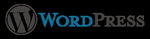 Logo WordPress CMS Site Web Vitrine